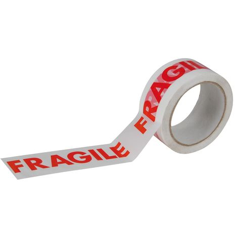 Kingscroft logistics printed fragile tape