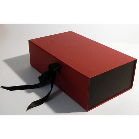 Black and red box