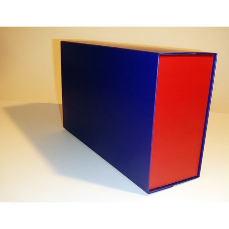 Blue and Red Hamper Box