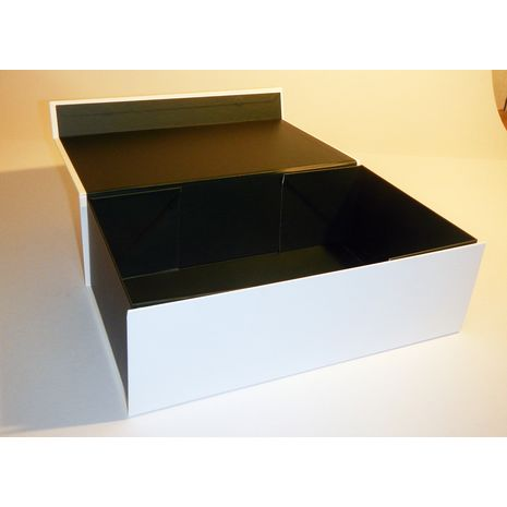 White and Black Box with no ribbon